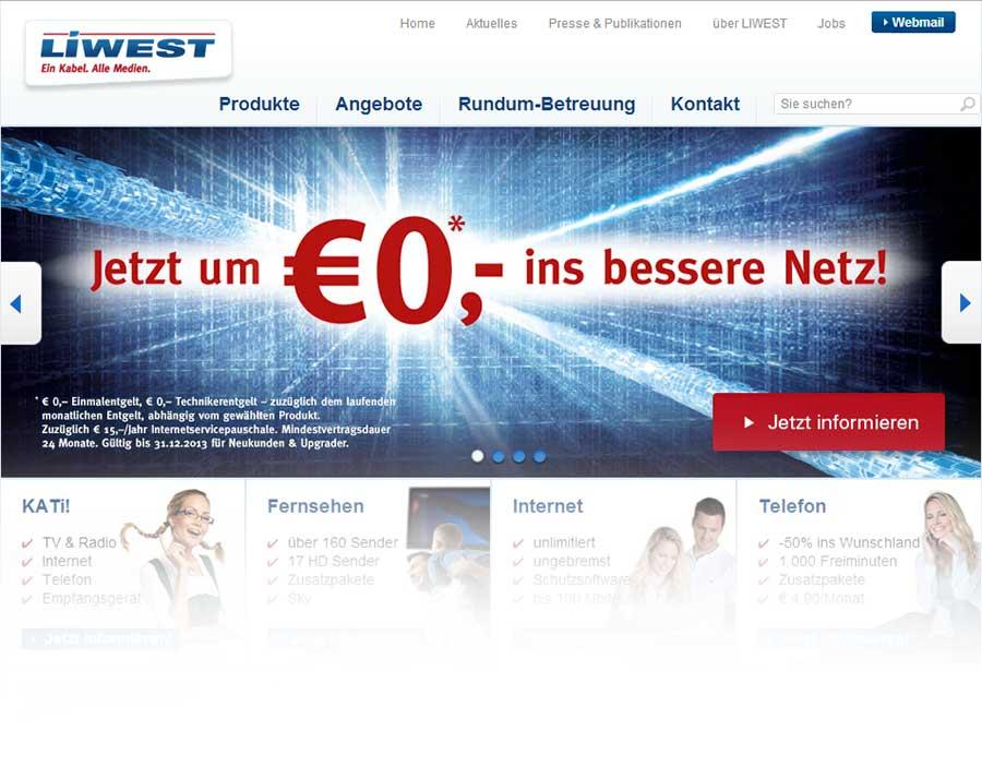 Liwest-website